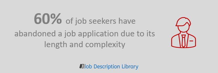 Job application statistics